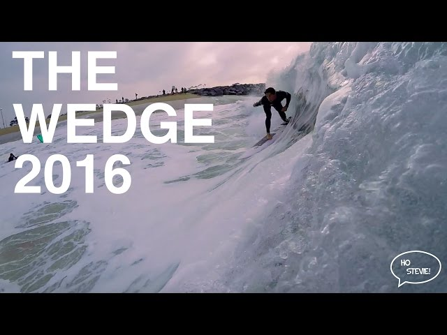[The Wedge] Big Spring Swell 2016