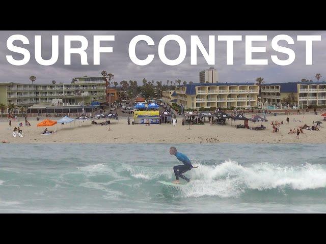 Surf Contest Vlog