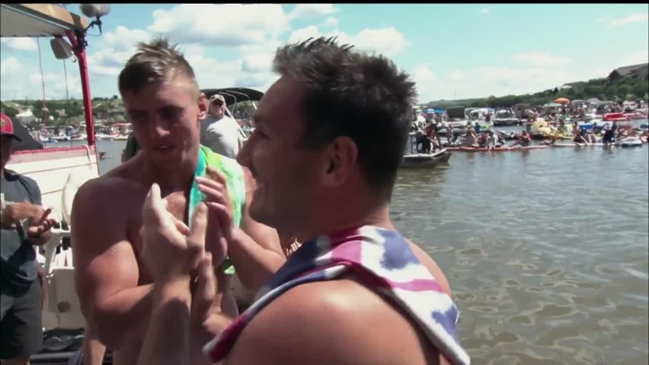 Red Bull Cliff Diving - Winning Dive Men - Texas