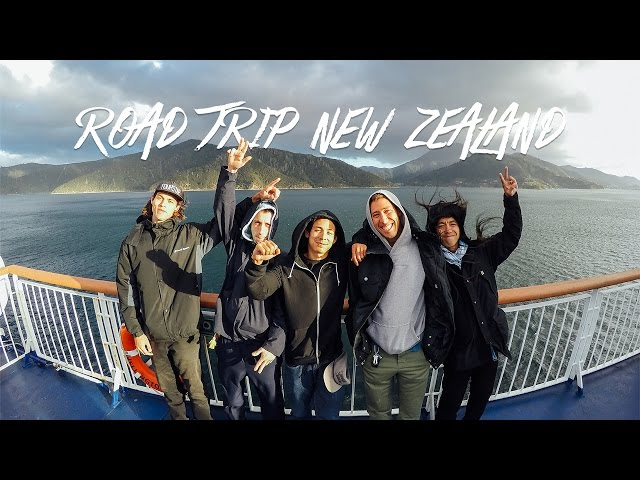 GoPro Skate Road Trip New Zealand Trailer