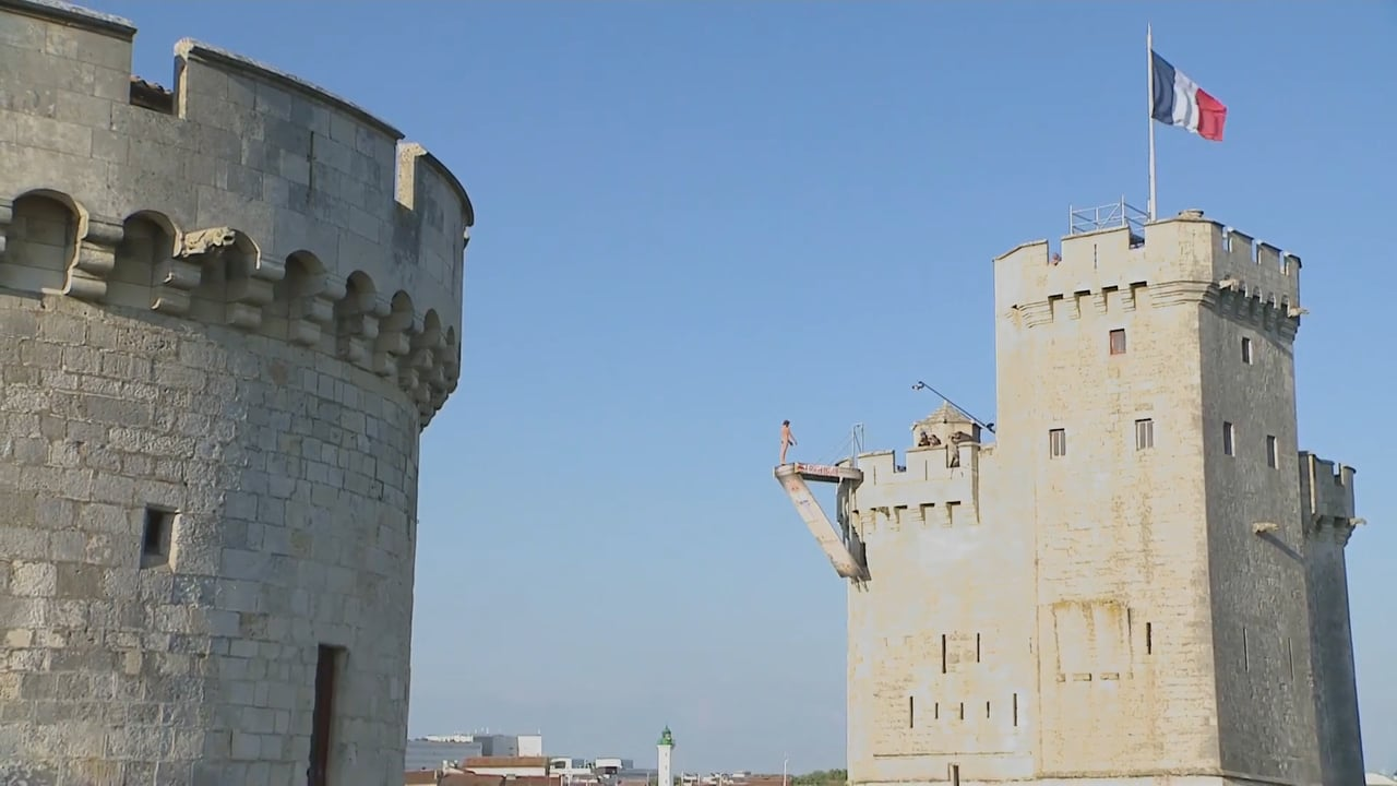 Red Bull Cliff Diving Winning Dive Men La Rochelle