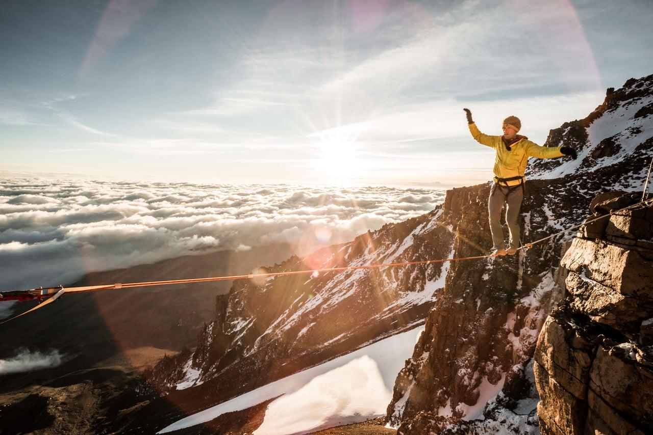 World record on Kilimanjaro