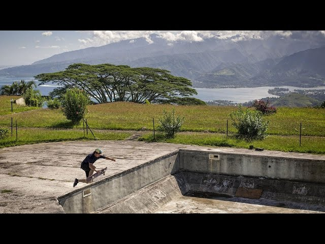 Red Bull Skate Team In Tahiti