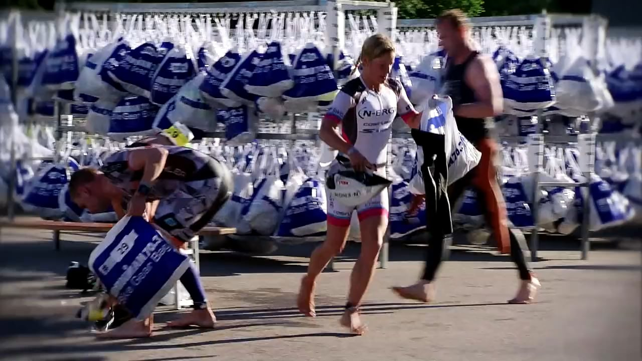 Triathlon #CatchTheMoment #TransitionZone (French)