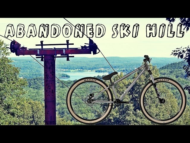 Exploring an Abandoned Ski Hill!!