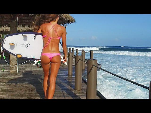KALOEA Surfer Girls   Maldives (HD Slow Motion)