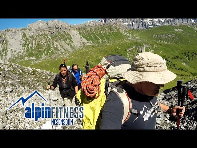 Claridenhütte SAC 2457m via Fisetenpass