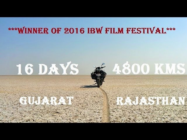 16 days, 4800km across west of India
