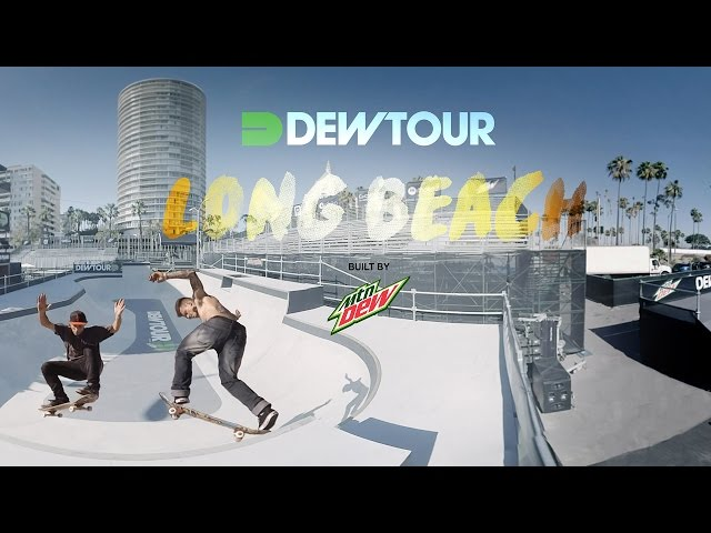 GoPro VR Bowl Skating Dew Tour