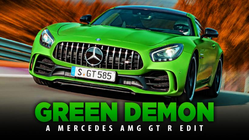 GREEN DEMON - A Mercedes AMG GT R Edit