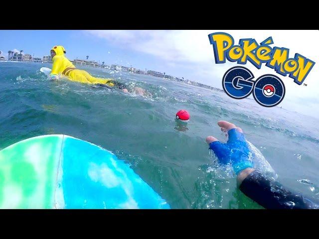 POKEMON GO SURFING