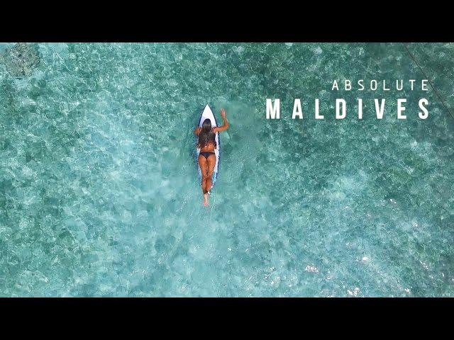 KALOEA Surfer Girls | Absolute Maldives (HD Drone)