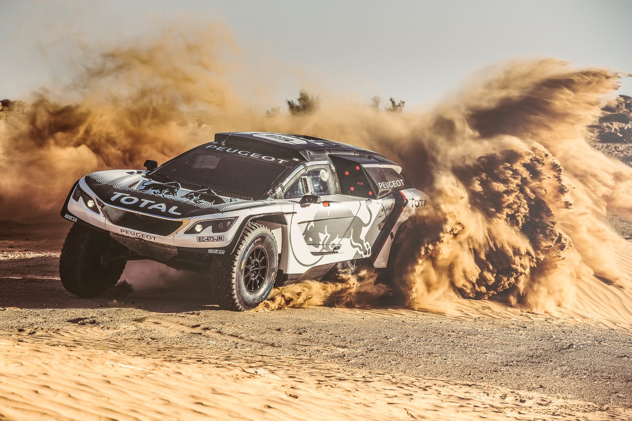 ALL-NEW PEUGEOT 3008 DKR READY FOR ACTION!