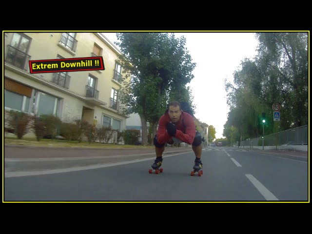 Roller Downhill in Paris