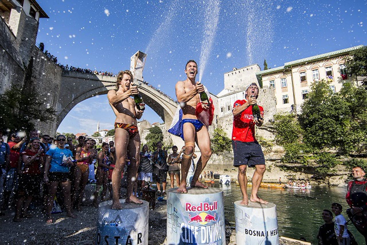 Red Bull Cliff Diving 2016 Winning Dive Men, BIH
