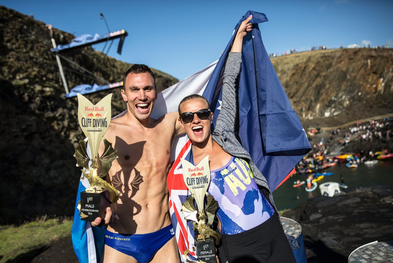 Red Bull Cliff Diving 2016 Best Moments UK