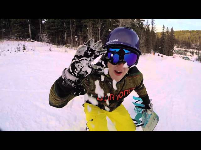 Zach Heinricks Snowboarding 2015