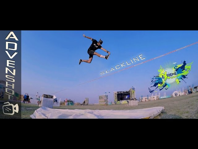 Slackline on Extreme Crimea 2016