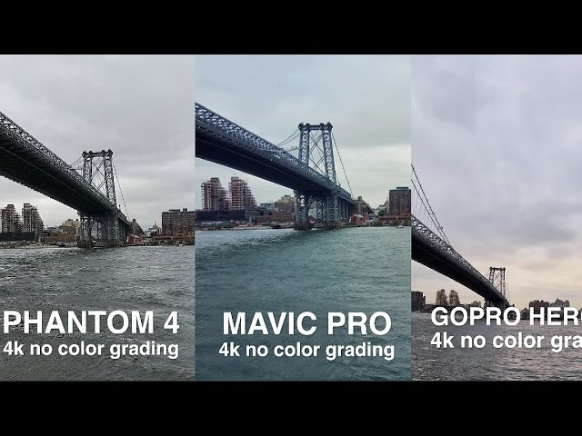 DJI Mavic VS Phantom 4 VS GoPro Karma