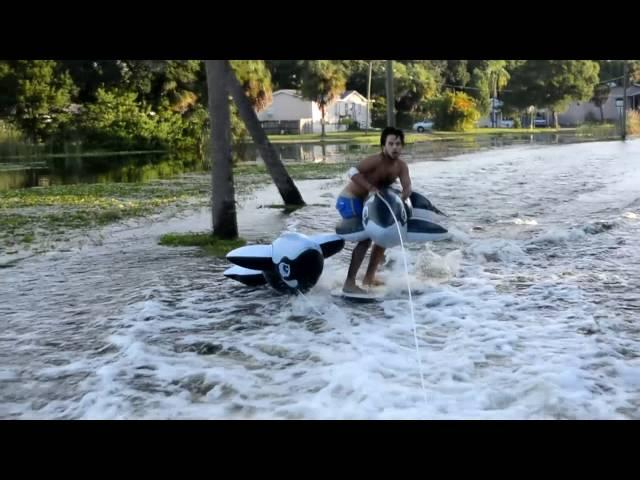Hurricane Hermine WHALEboarding FAILS