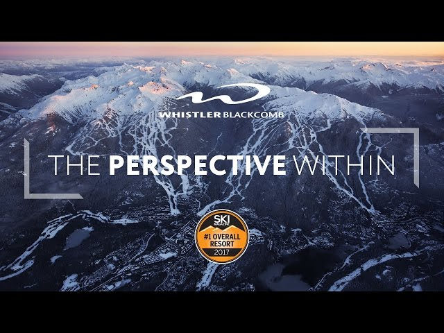 Whistler Blackcomb Ranks #1 For 2017