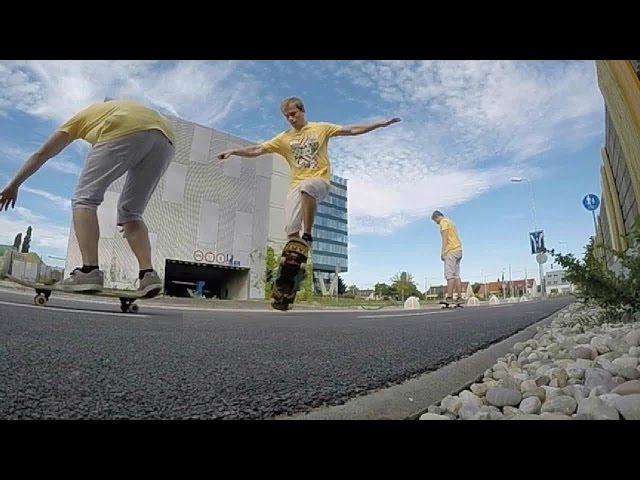 FAKIE FS ANTIBIGSPIN SLOW MOTION 240 FPS