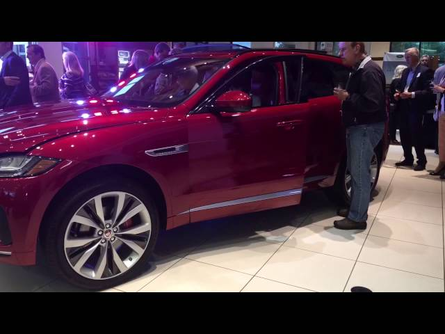 Jaguar F-Pace and Maserati Levante Debute Parties!