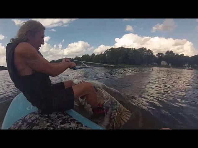 Marting Big Winch Fun, Filmed with ThiEye HD