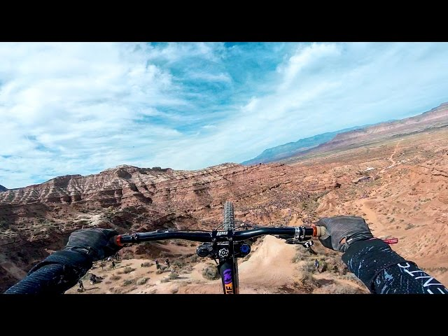 First Ever Double Backflip At Red Bull Rampage