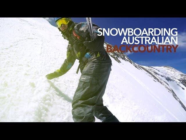 Australian Backcountry Snowboarding
