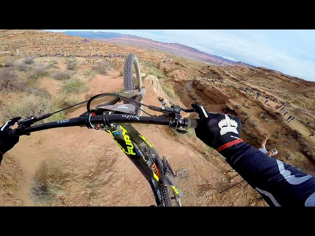 Tyler McCaul Stoked On Red Bull Rampage Final Run