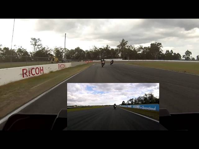 New Yamaha MT 10, Queensland Raceway. Session 7 of