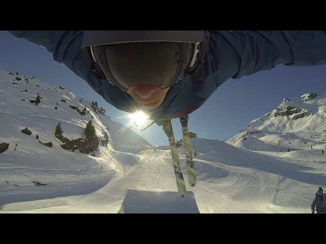 Val Thorens Freestyle Skiing Edit 2016
