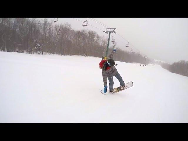 JAYDED (2016) Snowboarding Jay Peak Resort Vermont