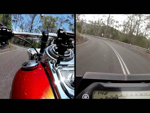 Harley Davidson Fatbob103 vs Yamaha MT-10
