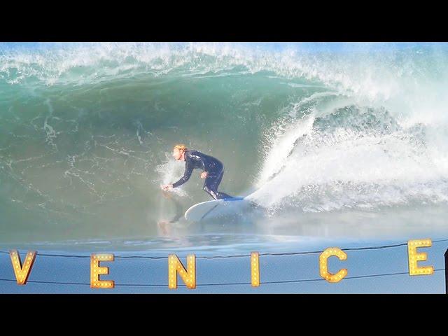 SURFING VENICE BEACH | November 9th 2016