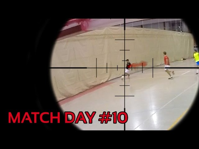 "Match Day ""FUTSAL SNIPER KILL SHOT"""