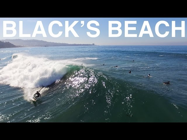 Black's Beach High Tide Bommies