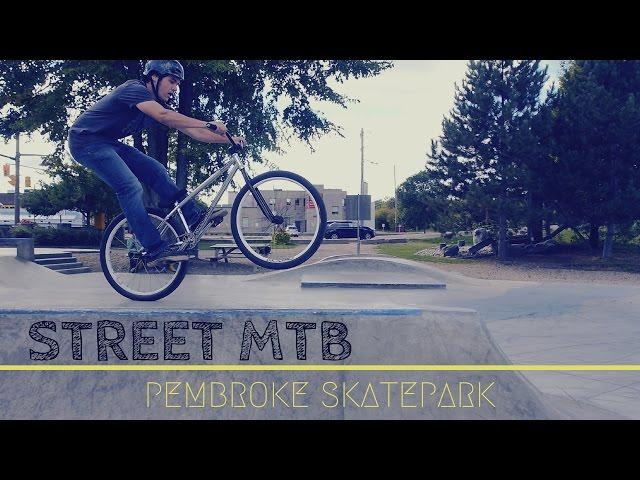 Grinds, 360s, Tech | Pembroke Skatepark Street MTB