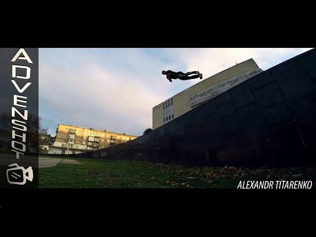 Alexandr Titarenko Parkour and freerunning video