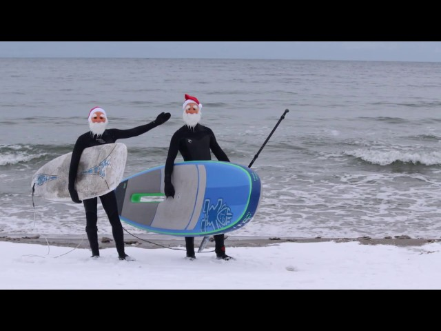 Traditional Santa Surf