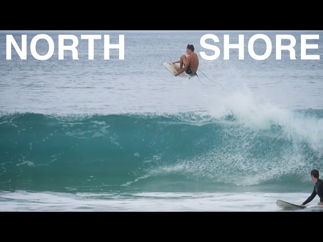 [raw footage] NORTH SHORE SURFING