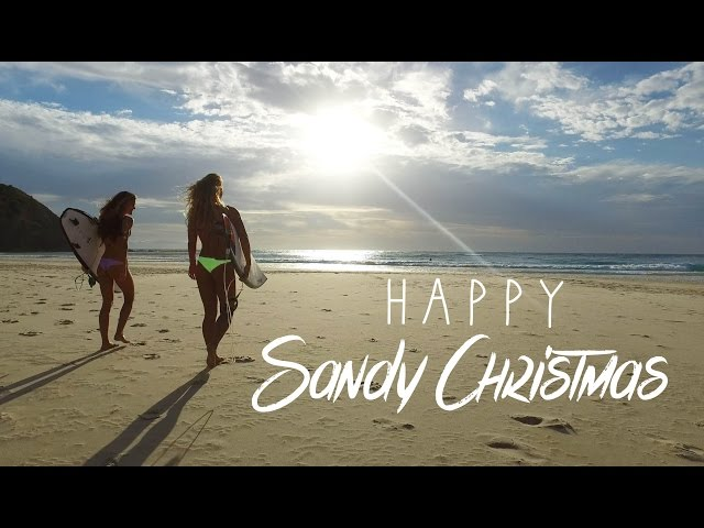 KALOEA Surfer Girls - Happy Sandy Christmas