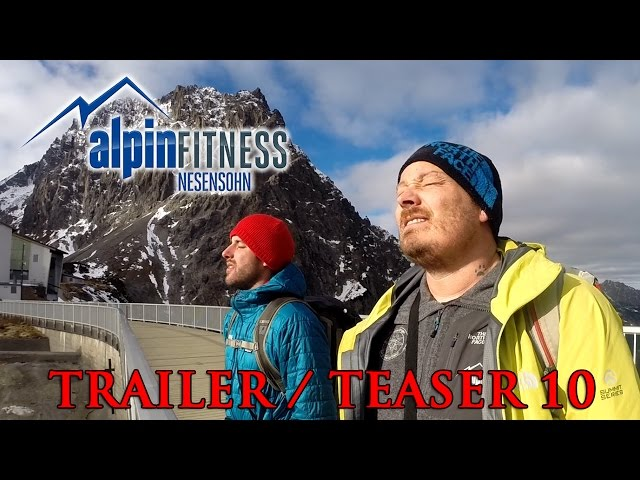 ALPINFITNESS TRAILER / TEASER #10