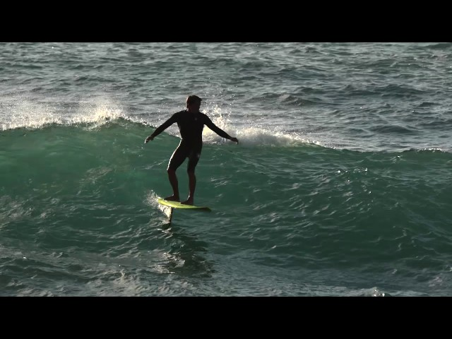 Kai Lenny Hydrofoil Surfing Sunset Beach