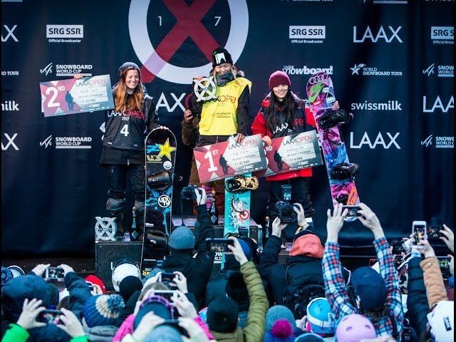 LAAX OPEN 2017 – Halfpipe – And the winner is…