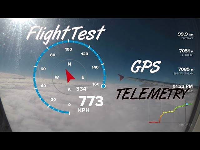 Airbus A320 GoPro Telemetry High Speed Test