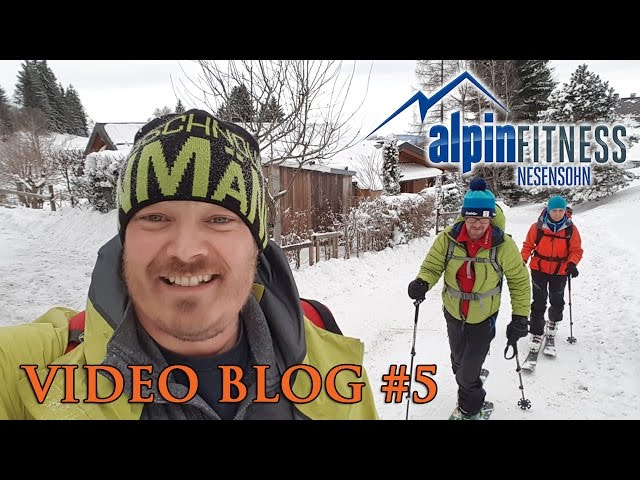 Funny Ski Tour Training :: VLOG #5