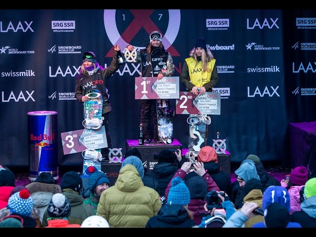 LAAX OPEN 2017 – Slopestyle – And the winner is…