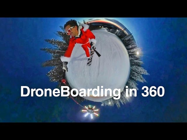 360 DroneBoarding With Casey Neistat